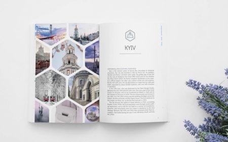 Англомовний путівник Києвом і містами області