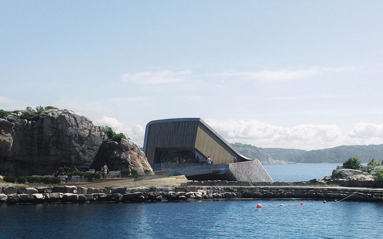 Перший підводний ресторан у Норвегії