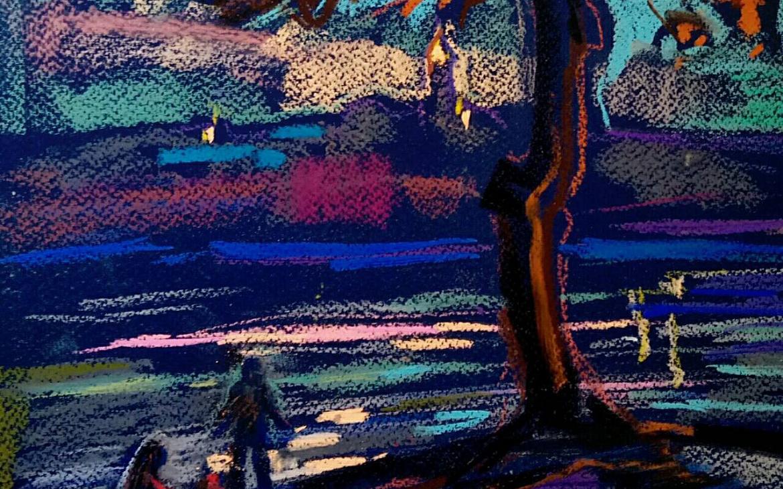 Виставка киянки, яка любить і думає кольором