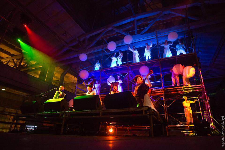 гурт дахабраха на сцені гогольfest