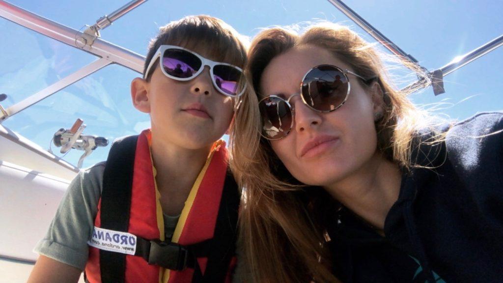 наталія деркач з сином