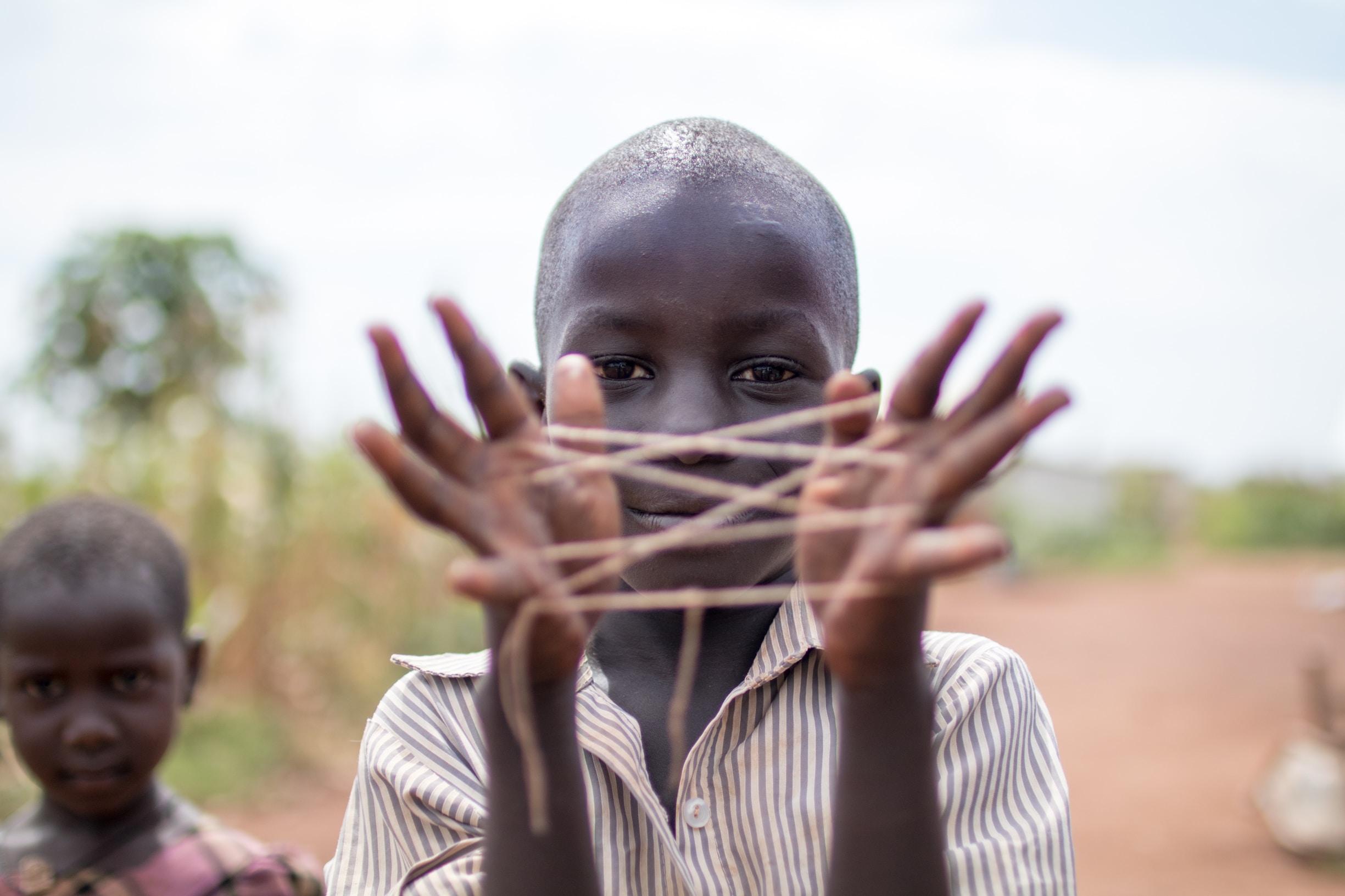 дитина в афріці