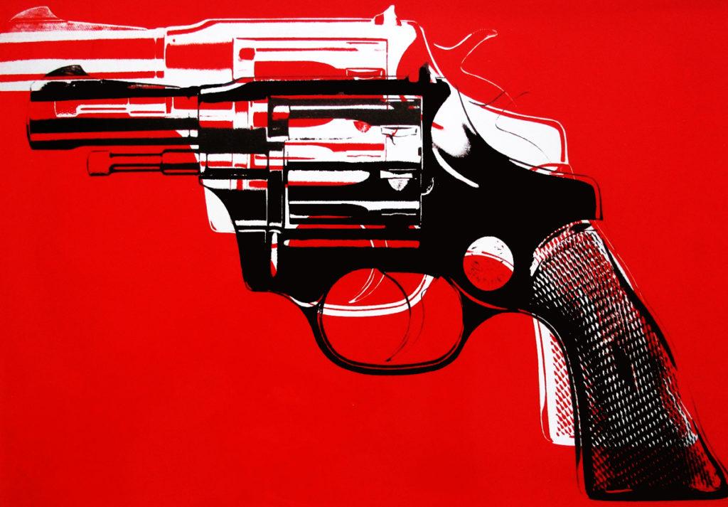 пістолет енді воргола
