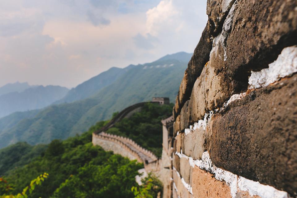 стіна у китаї