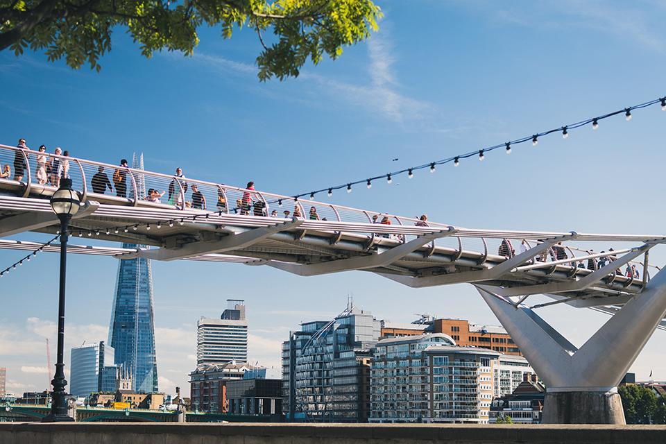 міст мыленіум у лондоні