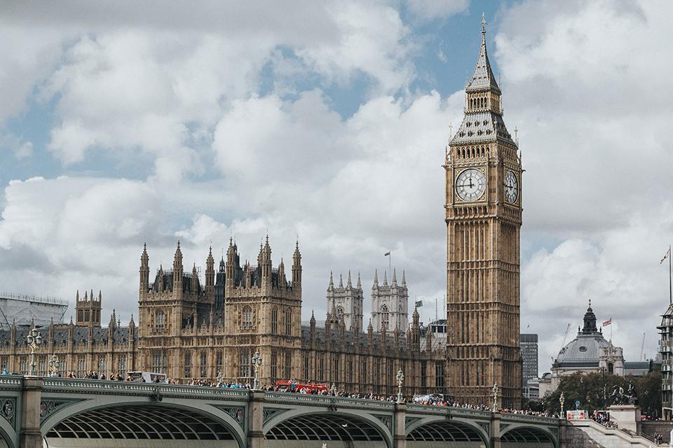 быг бен годинник лондона