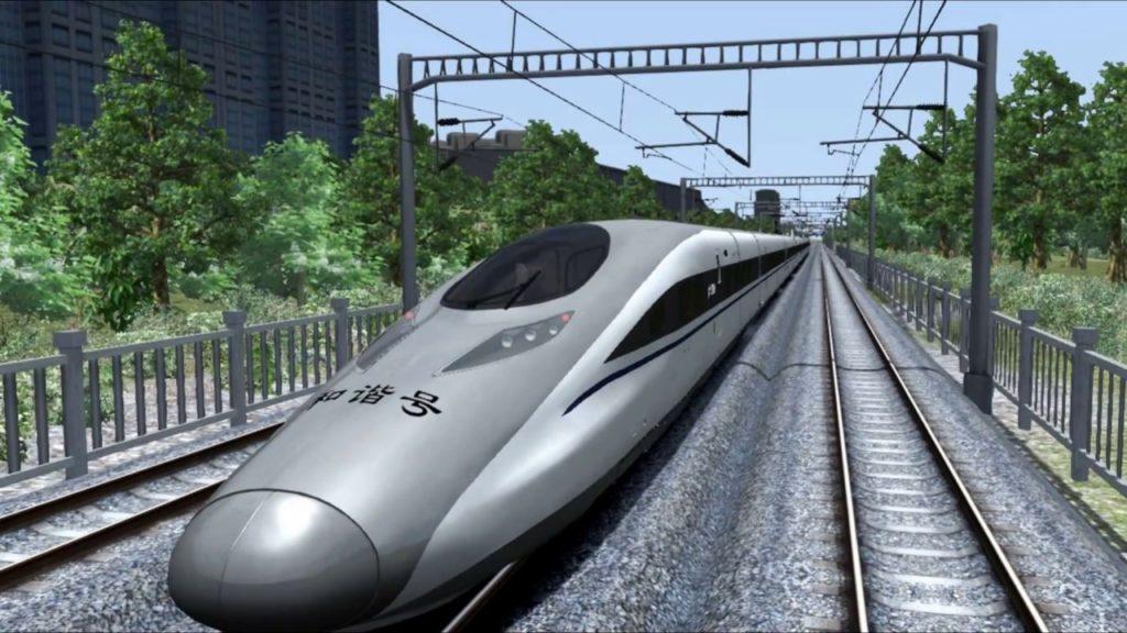китайські потяги швидкісні
