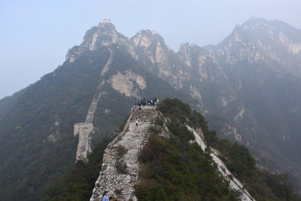 китайська стіна руїни