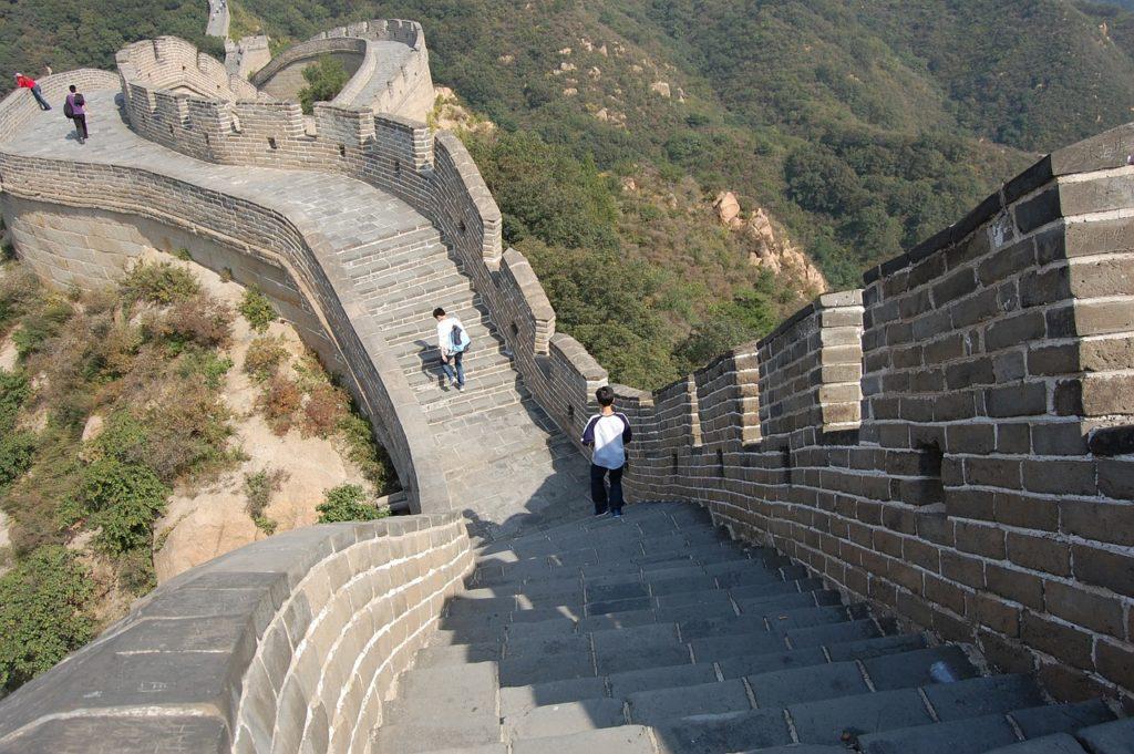 китайська стіна найвідоміша частина