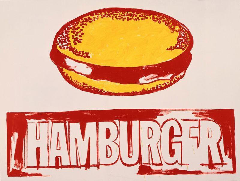 гамбургер енді воргола