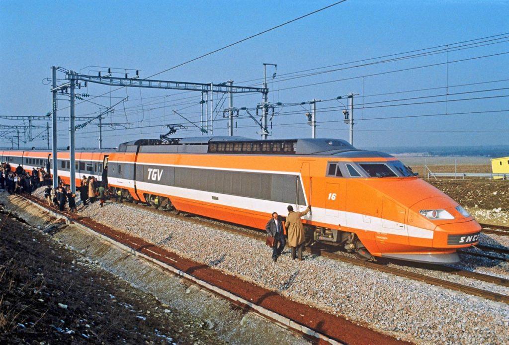 Trains a Grande Vitesse 1981