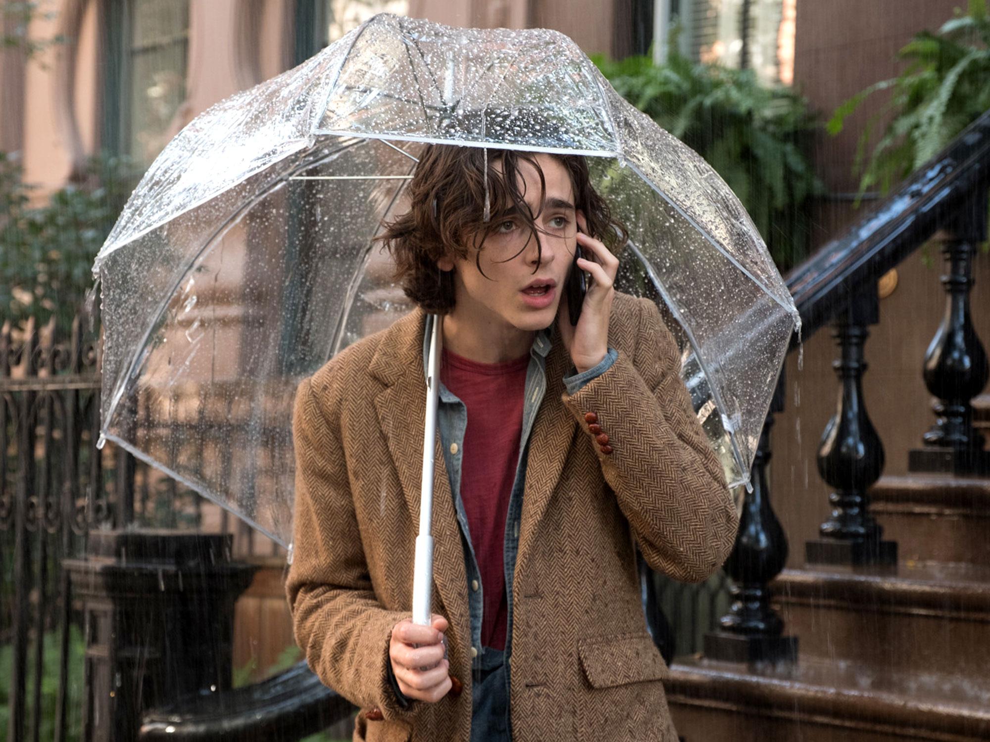 дощовий день у нью-йорку