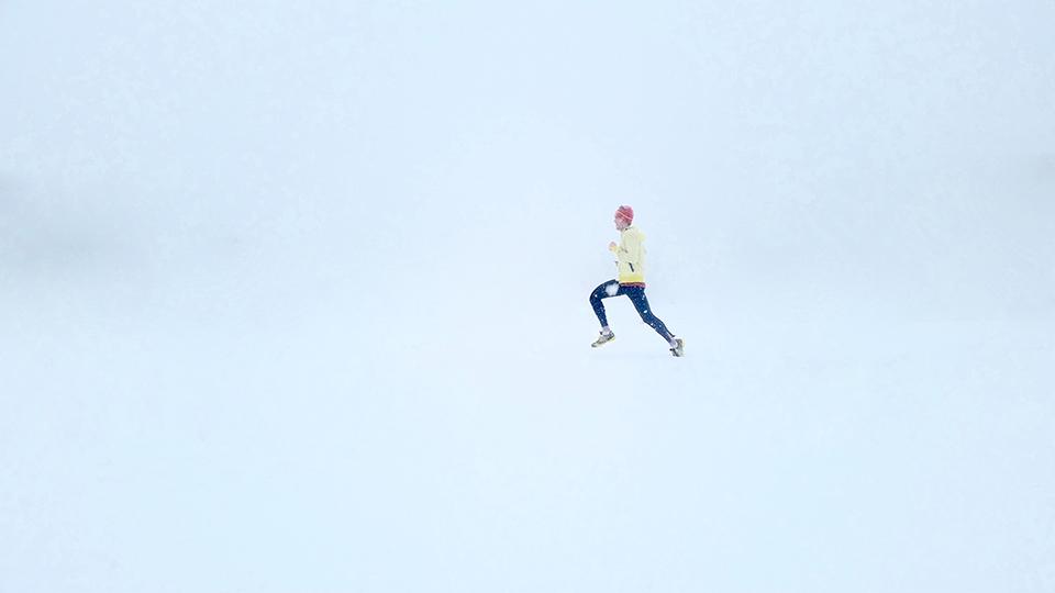 зимнє взуття для бігу