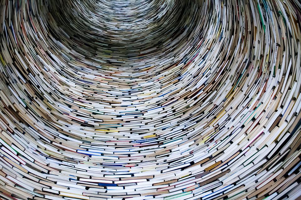 тунель з книг