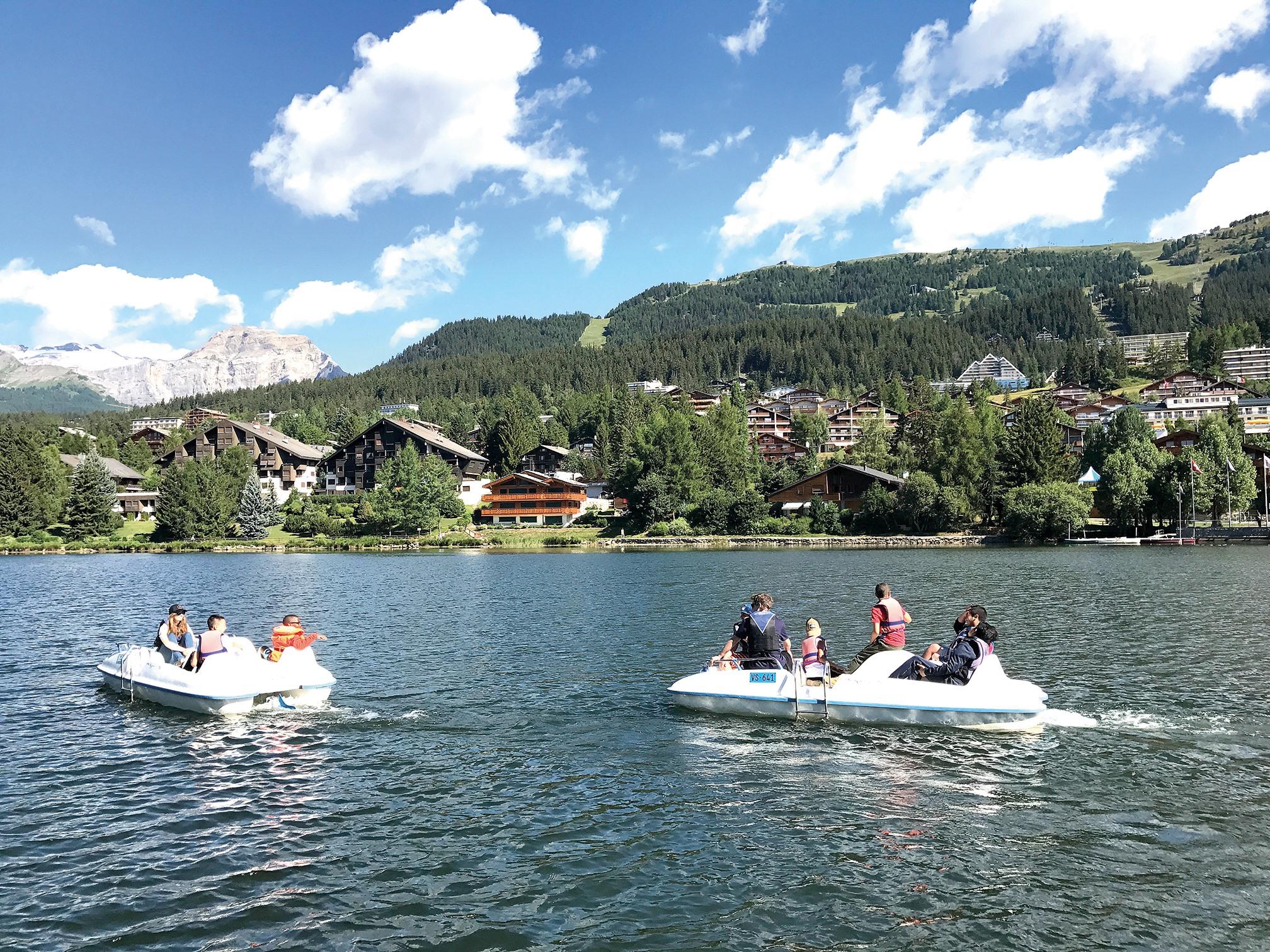 озеро у швейцарії