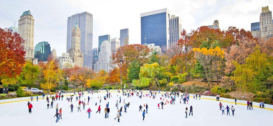 Ковзанка в Центральному парку, Нью-Йорк