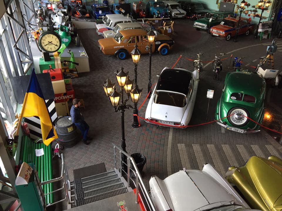 Музей ретроавтомобілів «Машини часу»