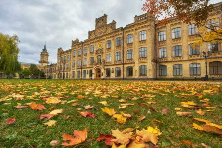 осінь у кієві