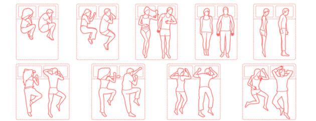 позіциї для сну