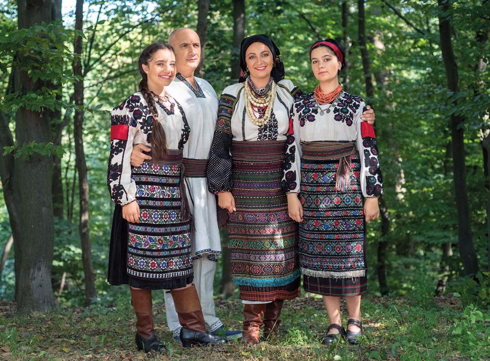 Іванна Климпуш-Цинцадзе з родиною