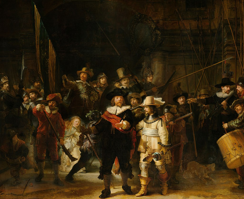 Картина Рембрандт нічна варта