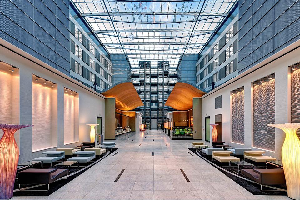Готель Hilton Frankfurt Airport