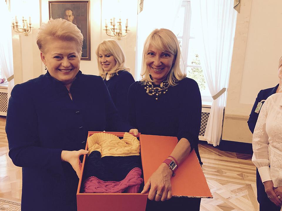 президент Литви купує речі РІТО