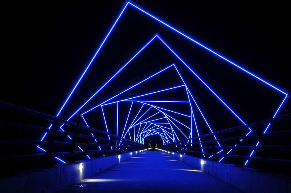 Міст High Trestle Trail Bridge у Мадриді