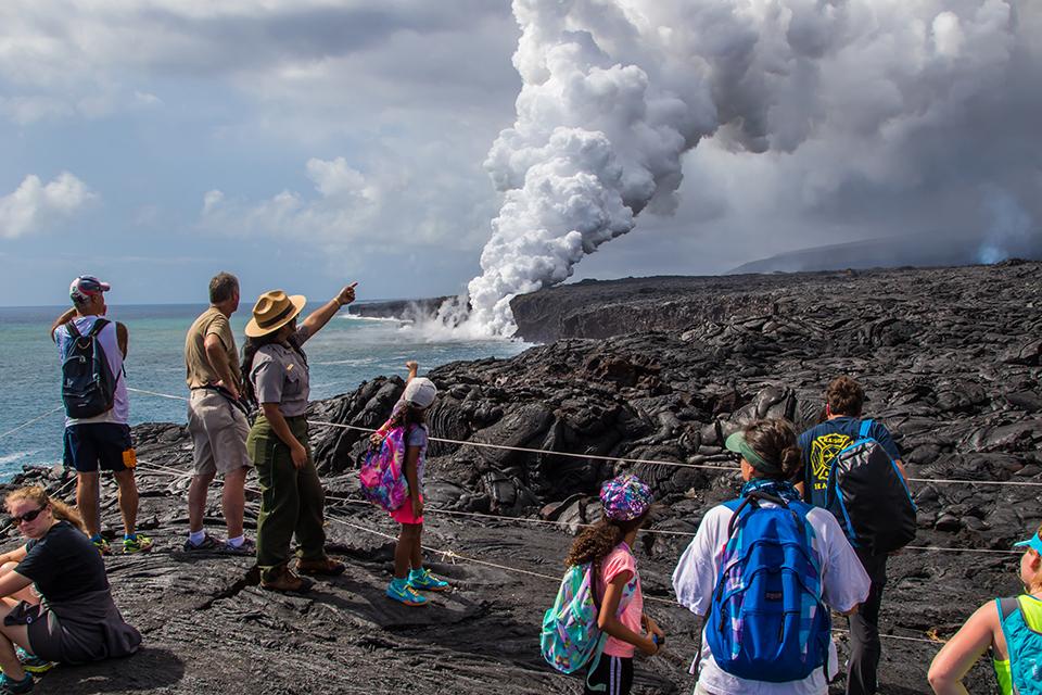 діючий вулкан на гаваях