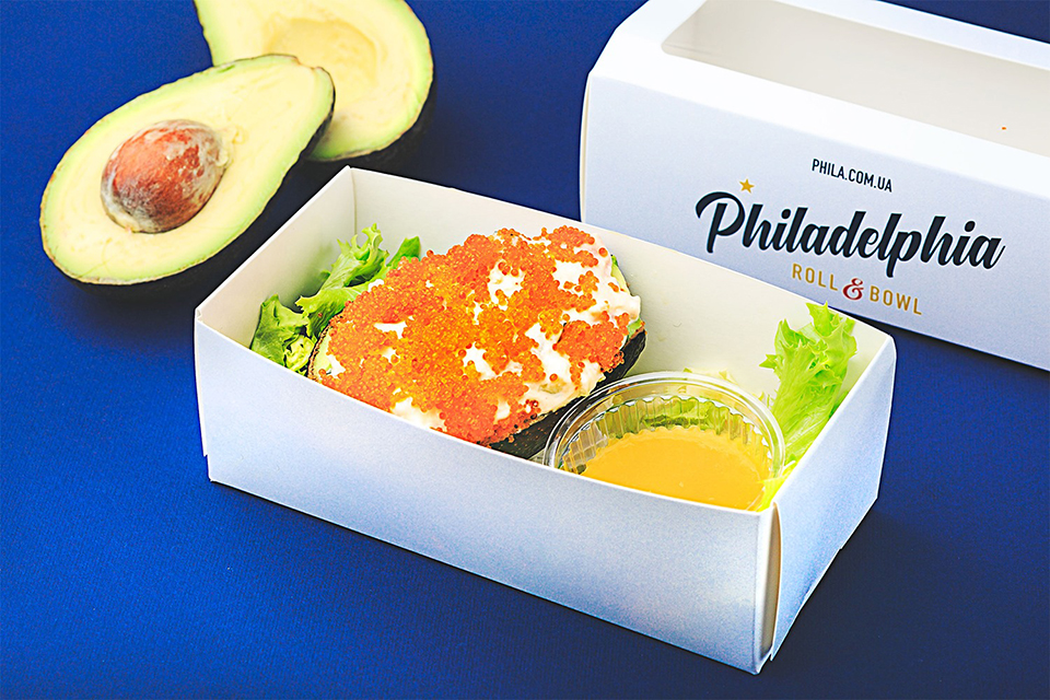 страви на винос в Philadelphia Roll & Bowl