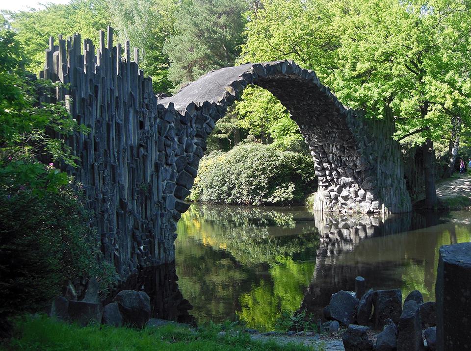Чортів міст, парк Кромлау, Німеччина
