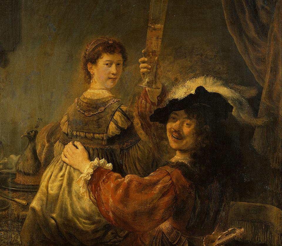 рембрандт автопортрет