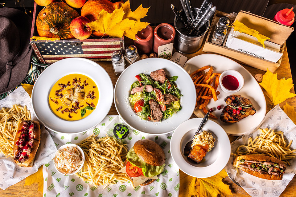 Top 5 places in Kyiv serving American cuisine