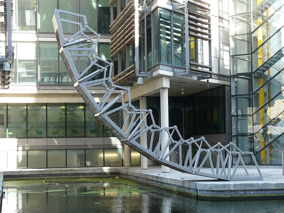 Міст, що згортається, Лондон