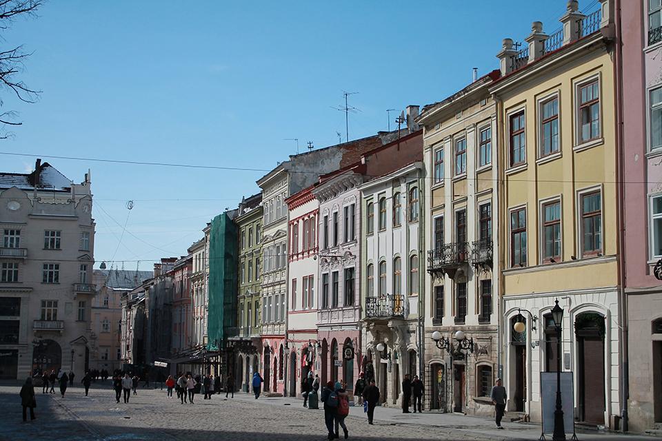 вулиці Чернівців