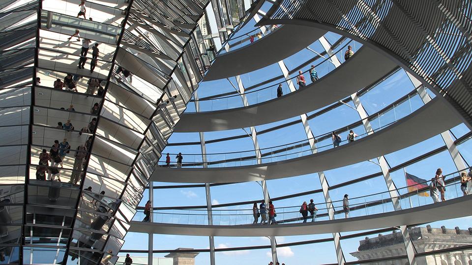 берлін німеччина купол рейхстаг
