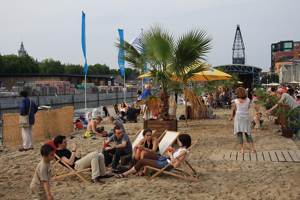 пляж у брюсселі
