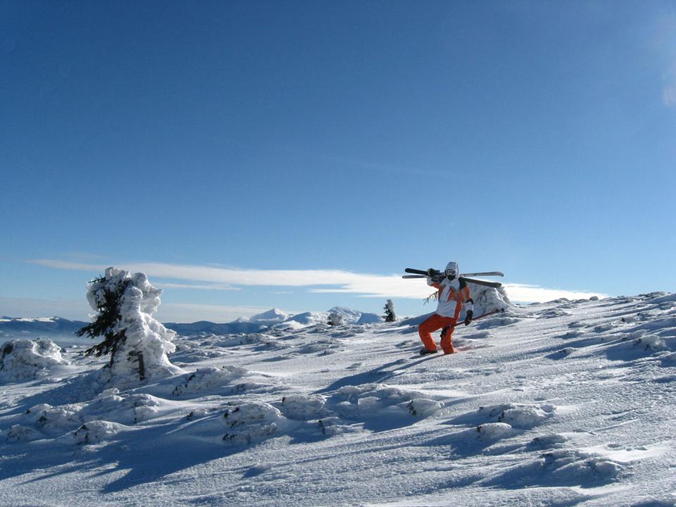 лижник на рагобраті