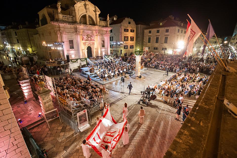 Літній фестиваль у Дубровнику