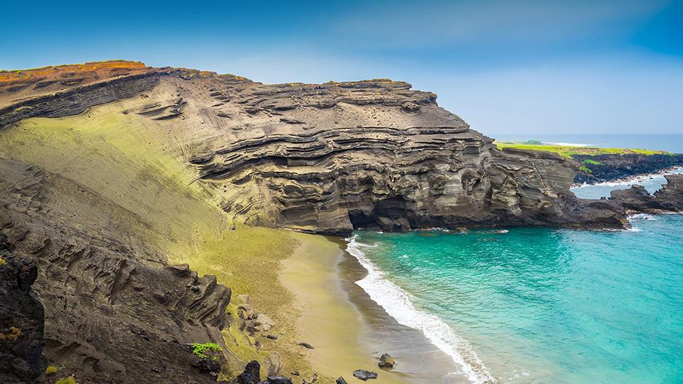 пляж Папаколеа, Гаваї