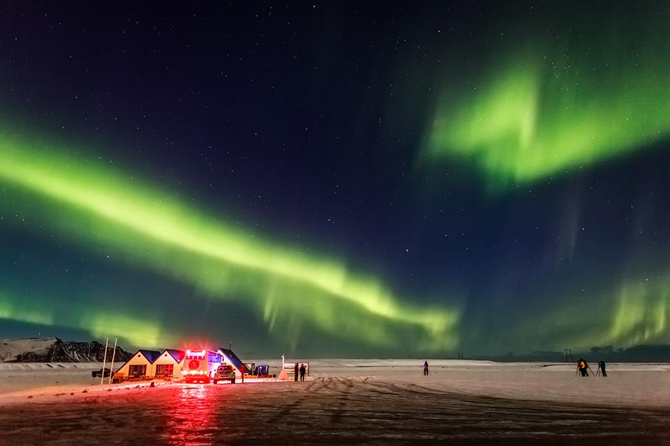 сяйво в Ісландії