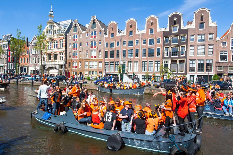 День Короля в Амстердамі