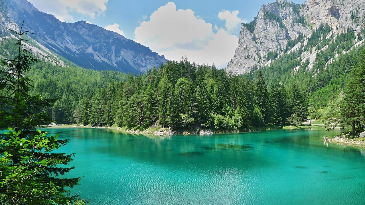 Підводний парк «Зелене озеро» (Grüner See) Трагос Австрія