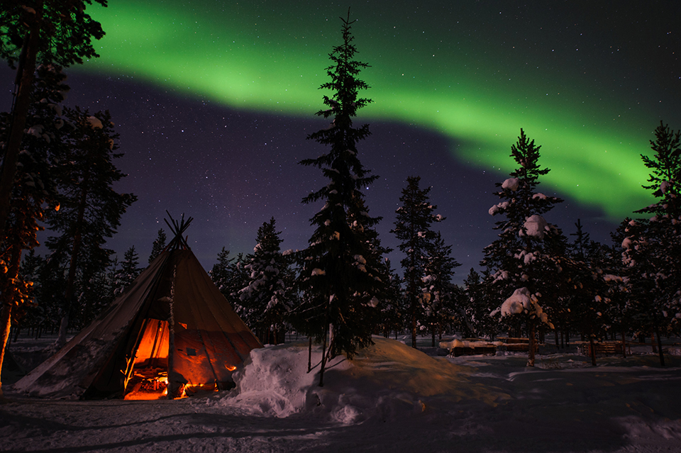Абіску, Швеція