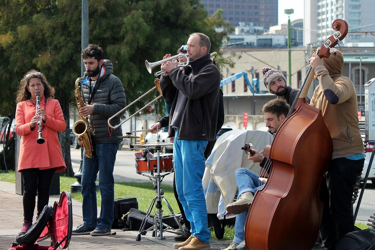 вуличні музиканти нового орлеану