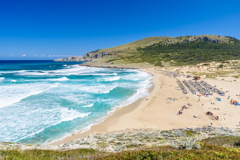 іспанія мальорка пляж пісок курорт