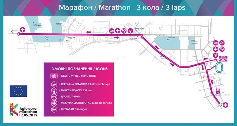 Карта марафону