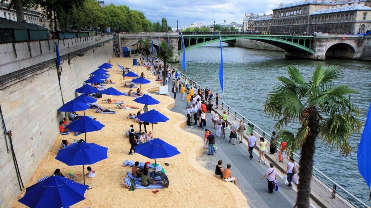 пляж францыя париж