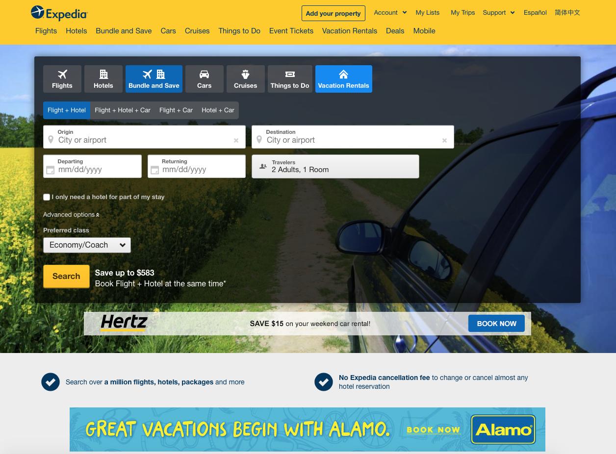 Еxpedia - ТОП-3 сервісів для купівлі авіаквитків
