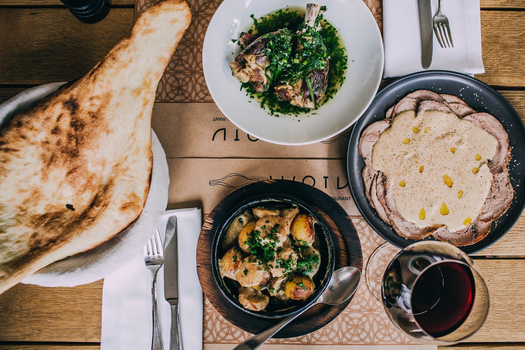 «Shoti» Georgian cuisine restaurants in Kyiv